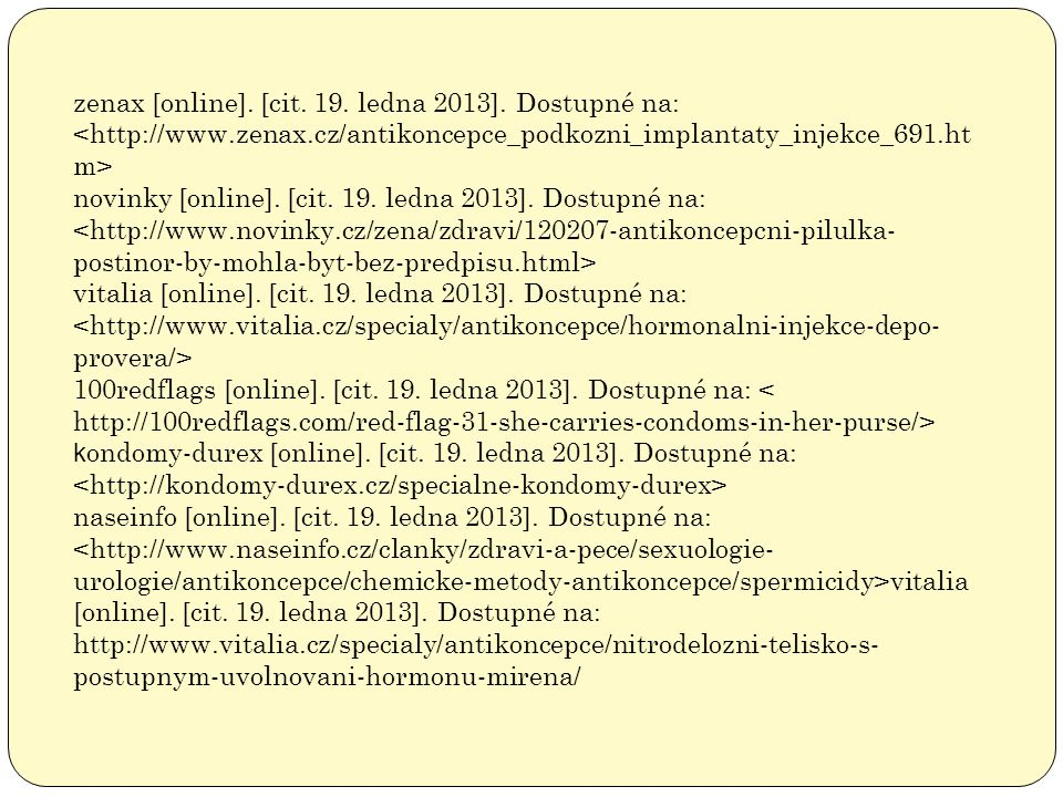 zenax [online]. [cit. 19. ledna 2013]. Dostupné na: <http://www